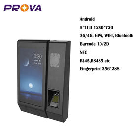 "China 5""LCD 1280*720 Biometric Fingerprint Scanner Device Convenient Using factory"