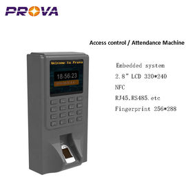 China Android Fingerprint Access Control , Biometric Door Access Support NFC factory