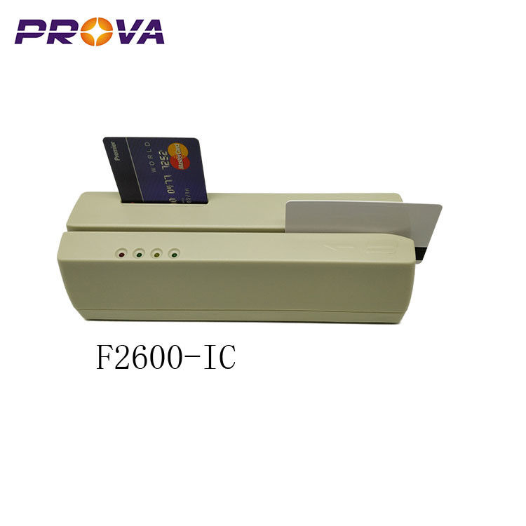 Durable IC Chip Card Reader Writer , 24V/2.5A Magnetic Stripe Card Reader Writer supplier