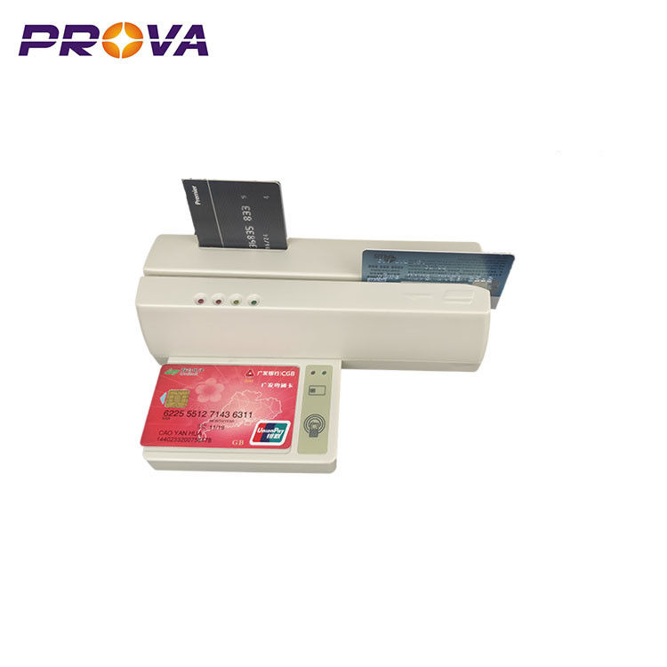 MSR Magnetic Stripe Chip Card Reader With Writer For Financial System