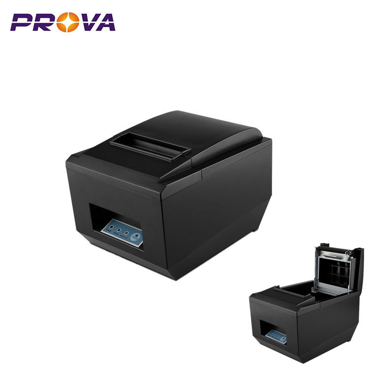 Low Power Consumption 80mm Thermal Printer Easy Maintenance With Auto Cutter
