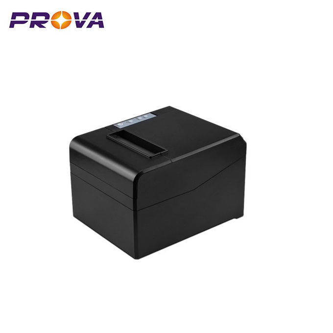 Mobile Pos Receipt Printer , 80mm Thermal Receipt Paper With Auto Cutter